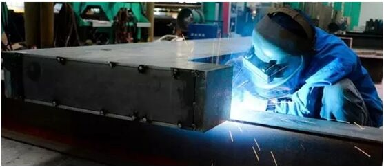 Industrial laser cutting bed project