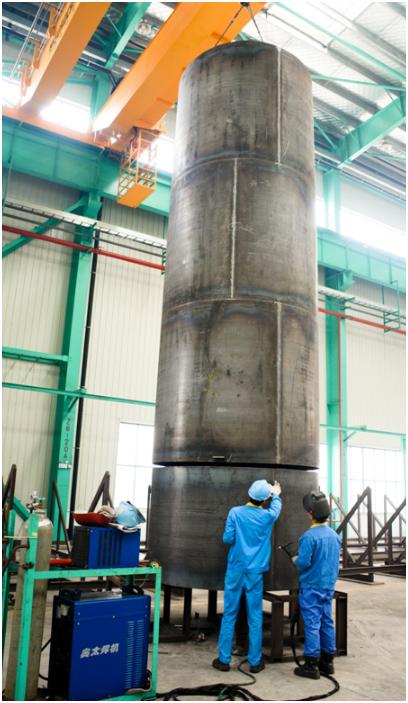 LNG tank fabrication