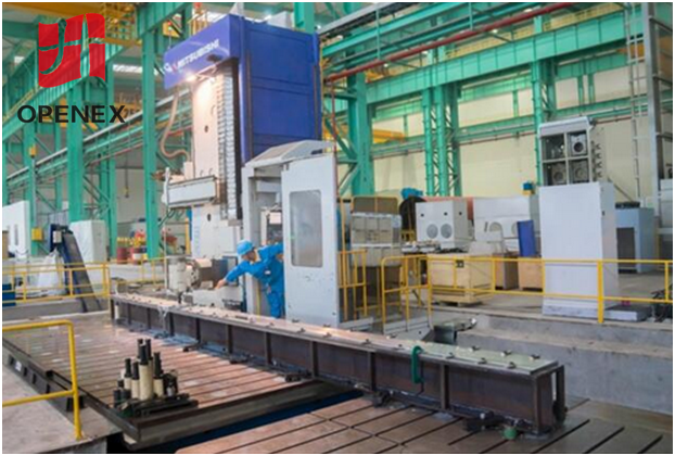 Papermaking machine components machining