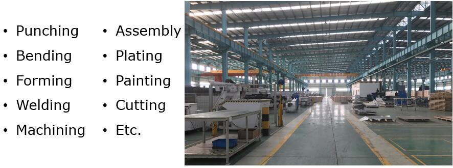 Precision sheet metal fabrication Service