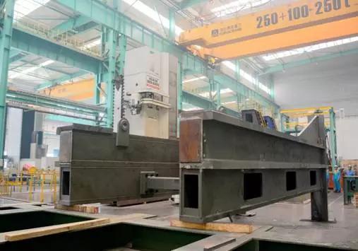 Shield Tunneling Machine Steel Bracket Fabrication