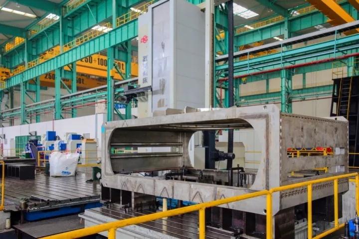 large machine tool steel body part
