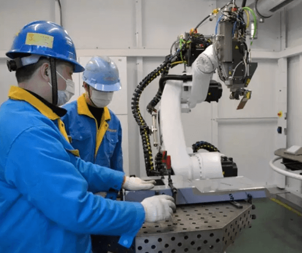 Automatic Welding Unit With Trulaser Robot 5020